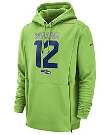 Nike Men's Seattle Seahawks Sideline Player Local Therma Hoodie
