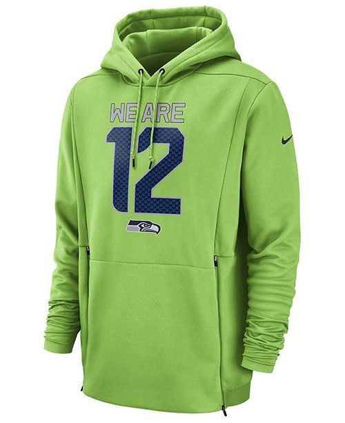 57009017d ... Nike Men s Seattle Seahawks Sideline Player Local Therma Hoodie ...