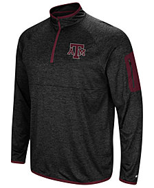 Colosseum Men's Texas A&M Aggies Amnesia Quarter-Zip Pullover