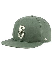 '47 Brand Seattle Mariners Moss Snapback Cap