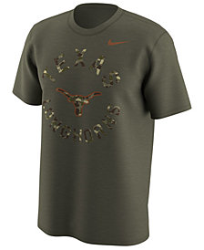 Nike Men's Texas Longhorns Camo Legend Logo T-Shirt
