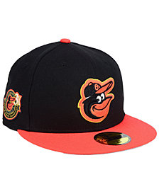New Era Baltimore Orioles Trophy Patch 59FIFTY FITTED Cap