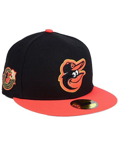 dce7ae5bc63 New Era Baltimore Orioles Trophy Patch 59FIFTY FITTED Cap - Sports ...