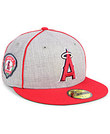 New Era Los Angeles Angels Stache 59FIFTY FITTED Cap