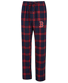 Concepts Sport Men's Boston Red Sox Homestretch Flannel Pajama Pants