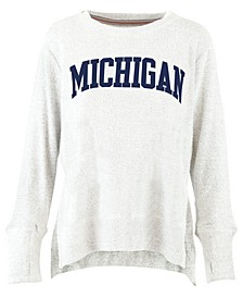 Women's Michigan Wolverines Cuddle Knit Sweatshirt