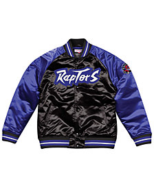 Mitchell & Ness Men's Toronto Raptors Tough Season Satin Jacket
