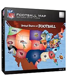MasterPieces Puzzle Company NFL 500 Piece Map Puzzle