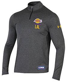Under Armour Men's Los Angeles Lakers Combine Authentic Season Quarter-Zip Pullover