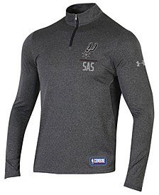 Men's San Antonio Spurs Combine Authentic Season Quarter-Zip Pullover