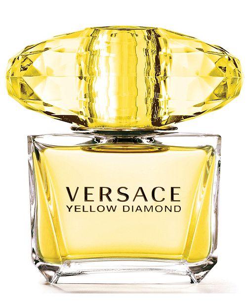 Versace Yellow Diamond Eau De Toilette Fragrance Collection