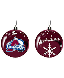 "Memory Company Colorado Avalanche 3"" Sled Glass Ball"