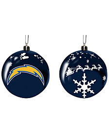 "Memory Company Los Angeles Chargers 3"" Sled Glass Ball"