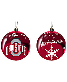 "Memory Company Ohio State Buckeyes 3"" Sled Glass Ball"