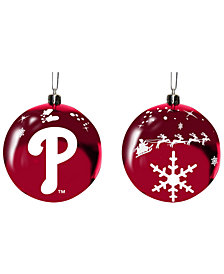 "Memory Company Philadelphia Phillies 3"" Sled Glass Ball"