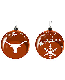 "Memory Company Texas Longhorns 3"" Sled Glass Ball"