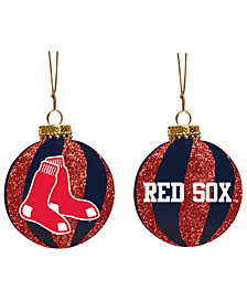 "Memory Company Boston Red Sox 3"" Sparkle Glass Ball"
