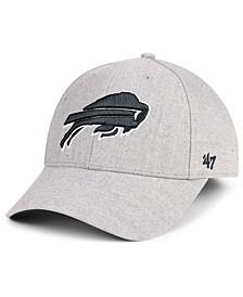 Buffalo Bills Heathered Black White MVP Adjustable Cap