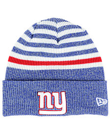New Era New York Giants Striped2 Cuff Knit Hat