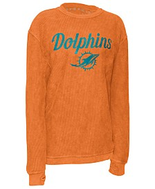 Pressbox Women's Miami Dolphins Comfy Cord Top