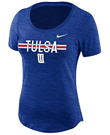 Nike Women's Tulsa Golden Hurricane Dri-FIT Slub T-Shirt