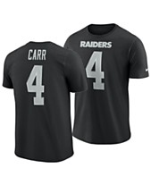 the best attitude a4b24 97818 Nike Men s Derek Carr Oakland Raiders Pride Name and Number Wordmark T-Shirt