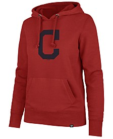 '47 Brand Women's Cleveland Indians Imprint Headline Hoodie