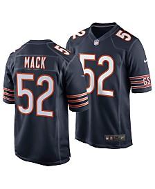 Nike Men's Khalil Mack Chicago Bears Game Jersey
