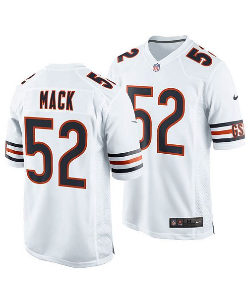 quality design ff53e 689e5 Men's Khalil Mack Chicago Bears Game Jersey