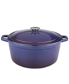 Neo Red 5 Qt. Oval Cast Iron Casserole