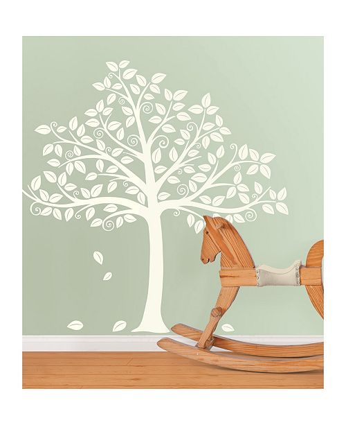 Brewster Home Fashions Silhouette Tree Wall Art Kit