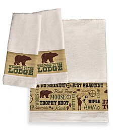 Welcome To The Lodge Bath Towel Collection