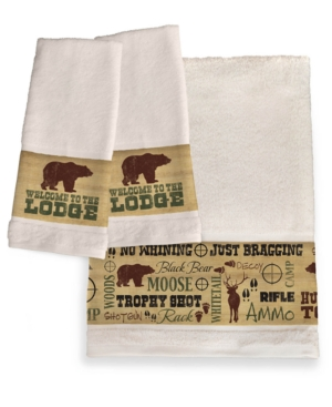 Image of Welcome To The Lodge Bath Towel Bedding