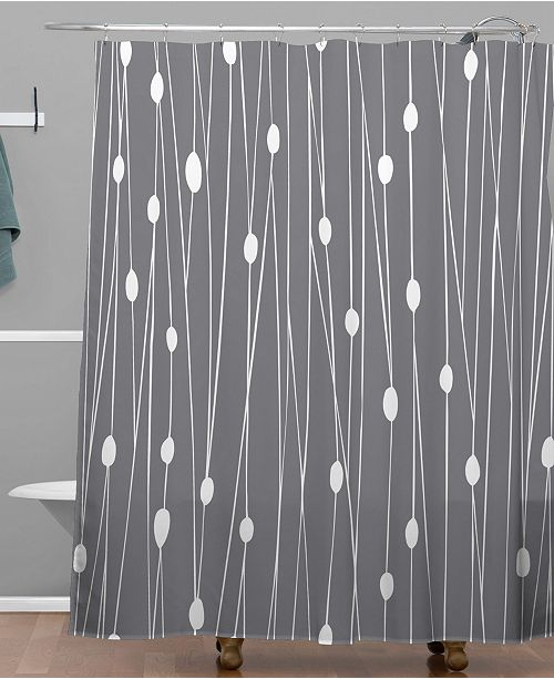 Deny Designs Heather Dutton Gray Entangled Shower Curtain