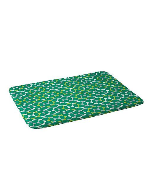 Deny Designs Heather Dutton Rocktagon Emerald Bath Mat