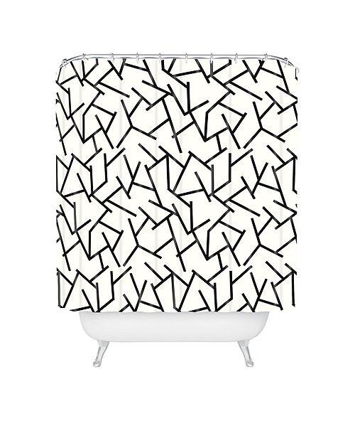 Deny Designs Holli Zollinger Haystack Shower Curtain