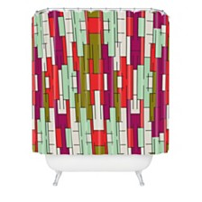 Deny Designs Holli Zollinger Abstract City Shower Curtain