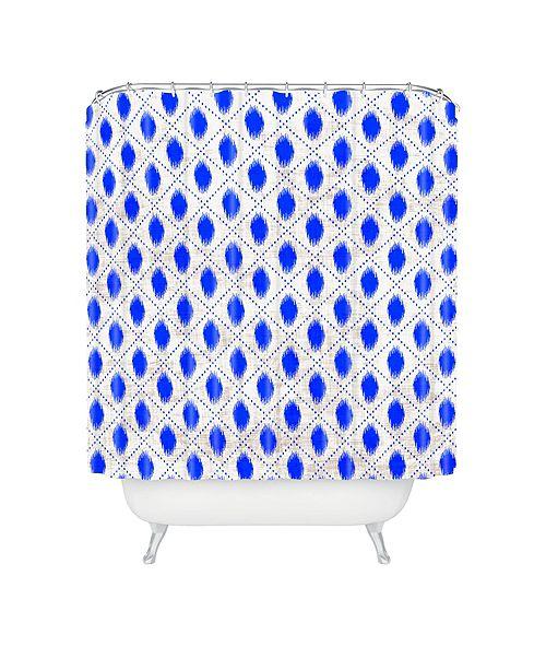Deny Designs Holli Zollinger Dot Ikat Shower Curtain