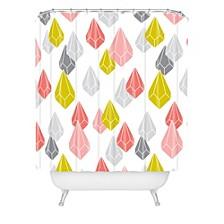 Heather Dutton Raining Gems Enchanted Shower Curtain