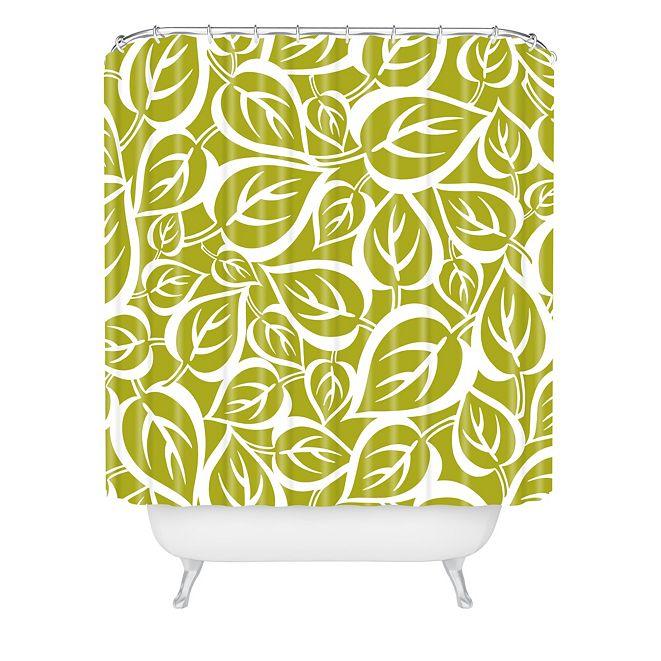 Deny Designs Heather Dutton Falling Foliage Shower Curtain