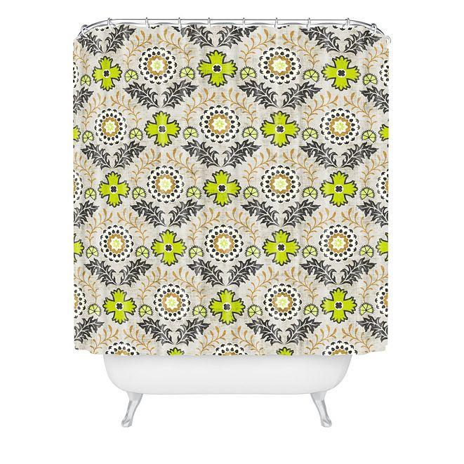 Deny Designs Holli Zollinger Floral Brocade Shower Curtain