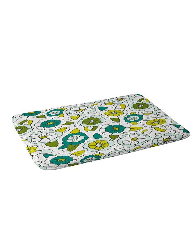 Deny Designs Heather Dutton Tropical Bloom Bath Mat