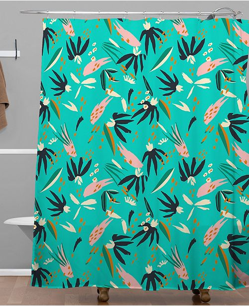 Deny Designs Holli Zollinger Adobo Ocean Shower Curtain