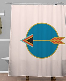 Holli Zollinger Zodiac Sagittarius Shower Curtain