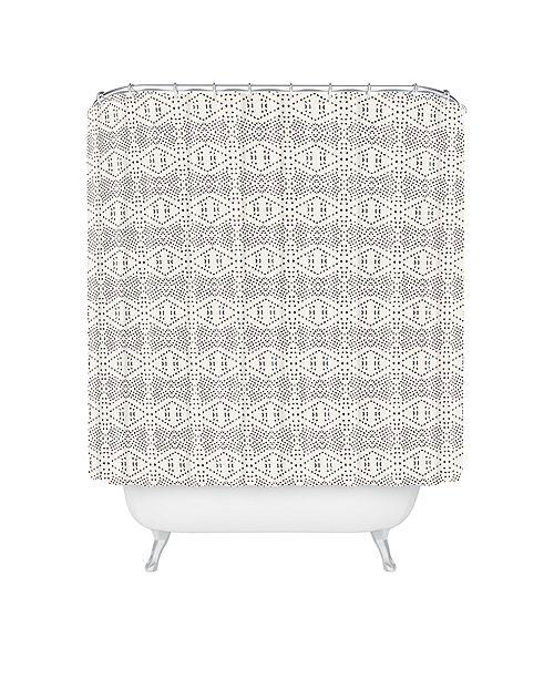 Deny Designs Holli Zollinger Boho Tile Shower Curtain