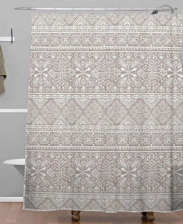 Deny Designs Heather Dutton Grand Bazaar Linen Shower Curtain