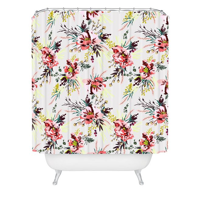 Deny Designs Holli Zollinger Poppy Wild Shower Curtain