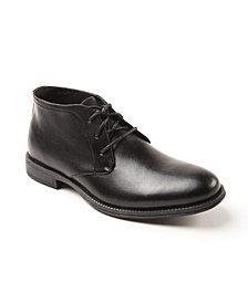 Deer Stags Men's Mean Waterproof Memory Foam Slip Resistant Classic Dress Comfort Desert Boot