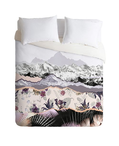 Deny Designs Mountainside Jungle Duvet Set by Iveta Abolina