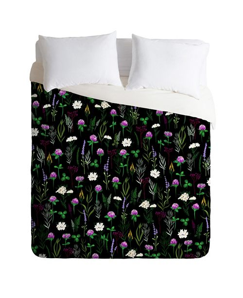 Deny Designs Iveta Abolina Clover Fields Twin Duvet Set
